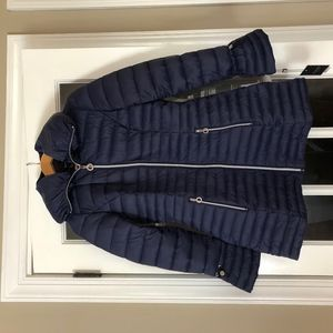 Laundry by Shelli Segal Hooded Quilted Lightweight